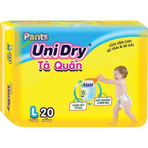 Tã - bỉm quần UniDry L20