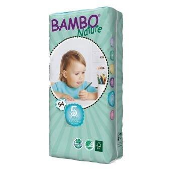 Tã dán Bambo Nature Junior 5 54 miếng (trẻ từ 12 - 22kg)