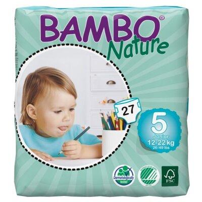 Tã dán Bambo Nature Junior 5 27 miếng (trẻ từ 12 - 22kg)