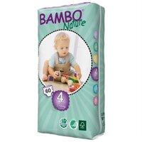 Tã dán Bambo Nature Maxi 4 60 miếng (trẻ từ 7 - 18kg)