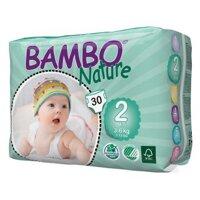 Tã dán Bambo Nature Mini 2 30 miếng (trẻ từ 3 - 6kg)