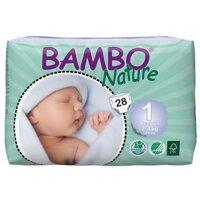 Tã dán Bambo Nature New Born 1 28 miếng (trẻ từ 2 - 4kg)