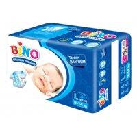Tã dán Bino ban đêm size L 30 miếng (trẻ từ 9 - 14kg)