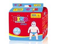 Tã dán Bino Sumo size XXXL 12 miếng (trẻ từ 18 - 35kg)