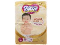 Tã dán Bobby Extra Soft Dry size L - 58 miếng