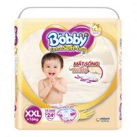 Tã dán Bobby Extra Soft Dry size XXL - 24 miếng