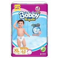 Tã dán Bobby Jumbo size XL - 62 miếng
