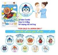 Tã dán Genki S82 - 82 miếng (dành cho trẻ từ 4-8kg)
