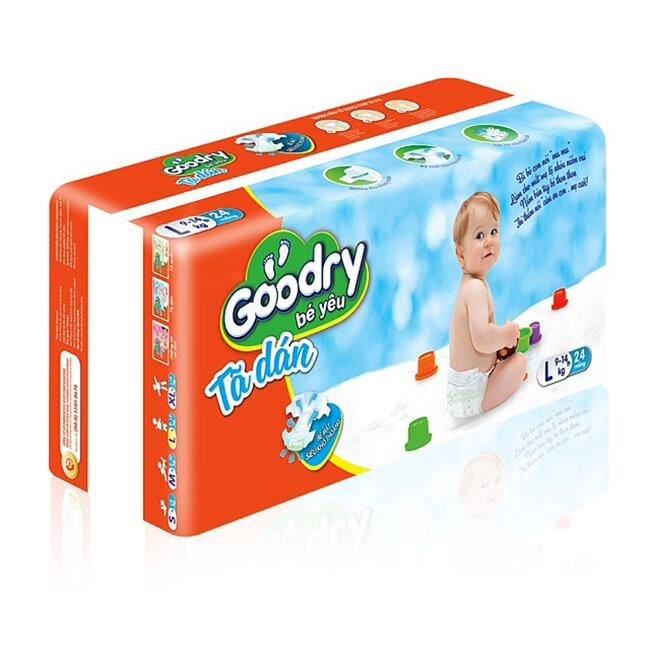 Tã dán Goodry L24 size L