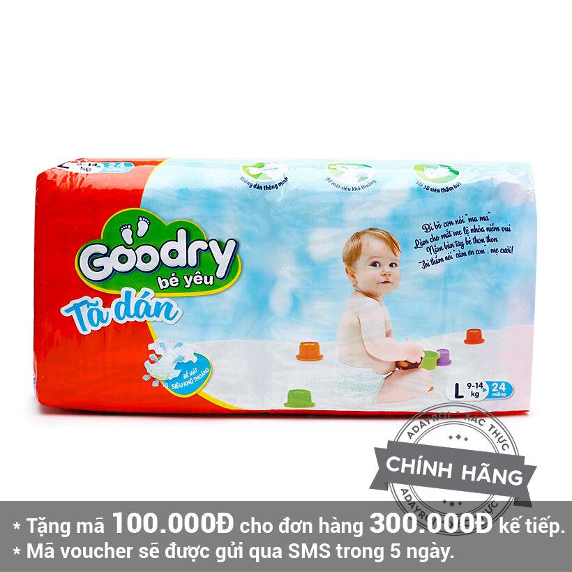 Tã dán Goodry L24