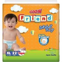 Tã dán Goo.n Friend size XL 22 miếng (trẻ từ 11 - 16kg)