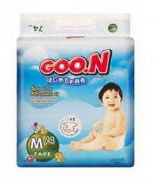 Tã dán Goo.n size M74 miếng (trẻ từ 6 - 11kg)