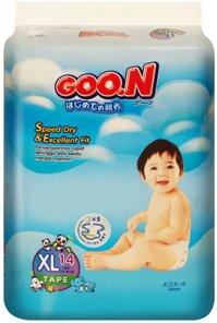 Tã dán Goo.n size XL 14 miếng (trẻ từ 12 - 20kg)