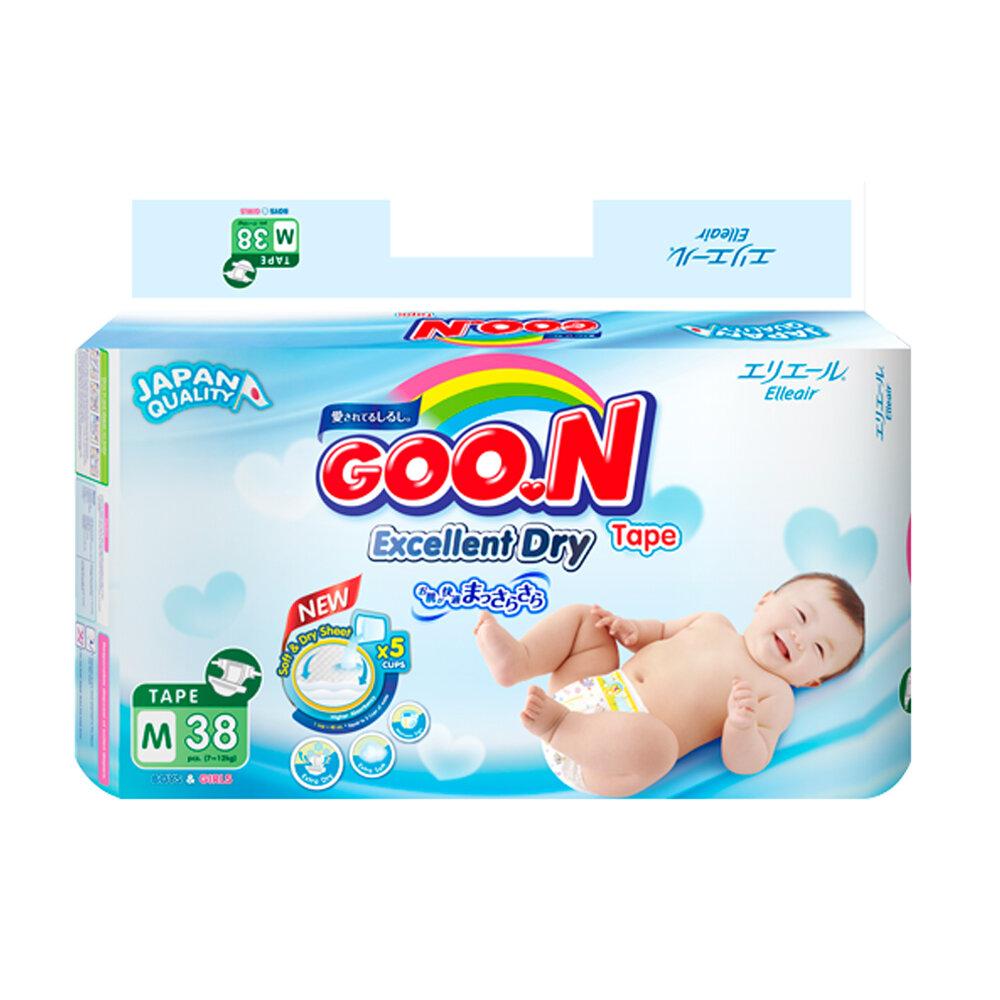 Tã dán Goon Slim Jumbo JB M38
