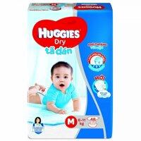 Tã dán Huggies Dry Jumbo size M - 48 miếng
