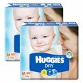 Tã dán Huggies Dry M80 (dành cho trẻ từ 5-10kg)