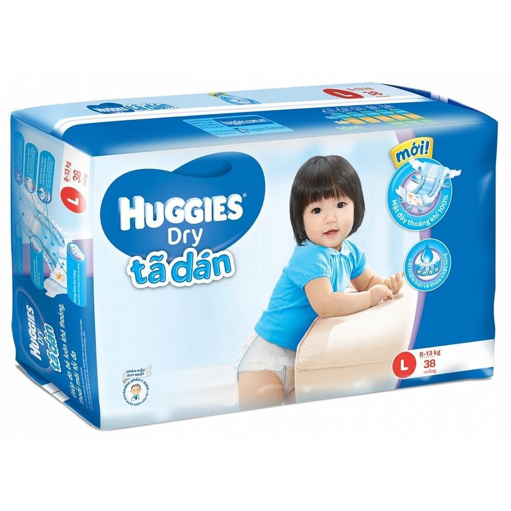 Tã dán Huggies L36