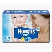 Tã dán Huggies size L 38 miếng (trẻ từ 8 - 13 kg)