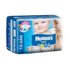 Tã dán Huggies size M 10 miếng (trẻ từ 5 - 10kg)