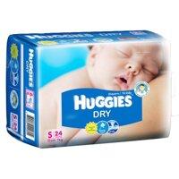 Tã dán Huggies size S24 miếng (trẻ từ 0 - 7kg)
