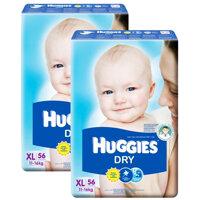 Tã dán Huggies size XL 56 miếng (trẻ từ 11 - 16kg)