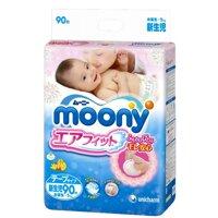 Tã dán Moony Newborn 90 miếng (trẻ từ 0 - 5kg)