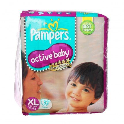 Tã dán Pampers CC XL32 (XL-32)