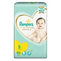 Tã dán Pampers Nhật Bản new (S, 60 miếng)
