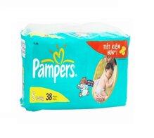 Tã dán Pampers size S 38 miếng (trẻ từ 3 - 8kg)