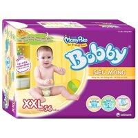Tã dán siêu mỏng Bobby Fresh XXL56