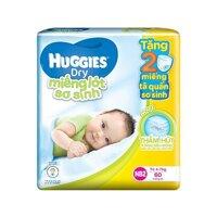 Tã giấy Huggies Newborn 2 - 60 miếng