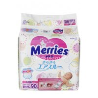 Tã giấy Merries Newborn 90 (NB90) - 90 miếng