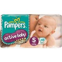 Tã giấy Pamper Active Baby S46 (dành cho trẻ từ 3-8kg)