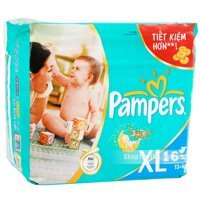 Tã giấy Pampers XL16 (dành cho bé từ 13kg trở lên)