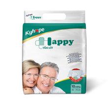 Tã giấy Under pad Kyhope Happy M10