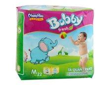 Tã quần Bobby size M 22 miếng (trẻ từ 6 - 10kg)