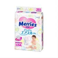 Tã quần cho bé Merries M76 - 6-11kg