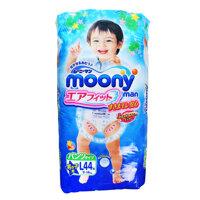Tã quần cho bé trai Moony size L 44 miếng (trẻ từ 9 - 14kg)