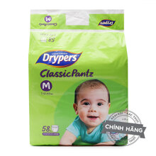 Tã quần Drypers Classic Pantz M58
