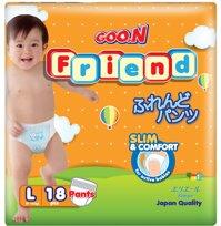 Tã quần Goo.n Friend size L18 miếng (trẻ từ 9 - 14kg)