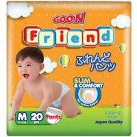 Tã quần Goo.n Friend size M20 miếng (trẻ từ 6 - 11kg)