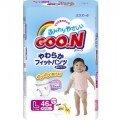 Tã quần Goo.n L46 (dành cho bé gái từ 9-14kg)