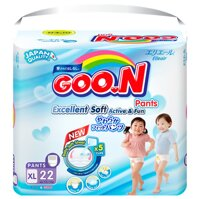 Tã quần GOON Renew Slim XL22 (12 - 17kg)