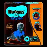 Tã quần Huggies Dry Super Jumbo size M - 74  miếng