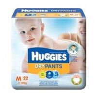 Tã quần Huggies size M22 miếng (trẻ từ 5 - 10 kg)