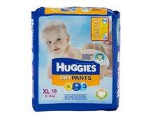 Tã quần Huggies size XL 18 miếng (trẻ từ 12 - 17kg)