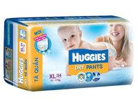 Tã quần Huggies size XL34 miếng (trẻ từ 12 - 17kg)