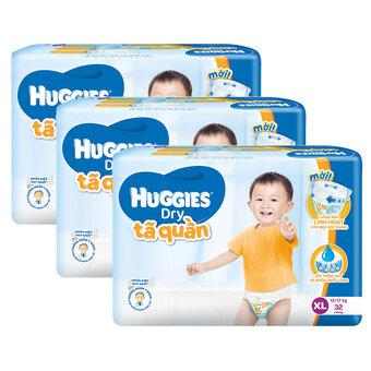 Tã quần Huggies XL32 xuân