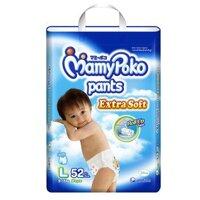 Tã quần MamyPoko Boys size L 52 miếng (trẻ từ 9 - 14kg)
