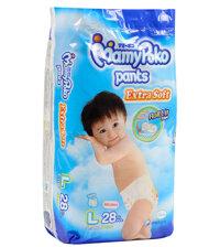 Tã quần MamyPoko Boys size L28 miếng (trẻ từ 9 - 14kg)